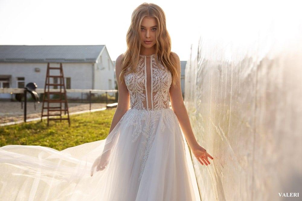 Vintage Hochzeitskleid Frühlingsbraut