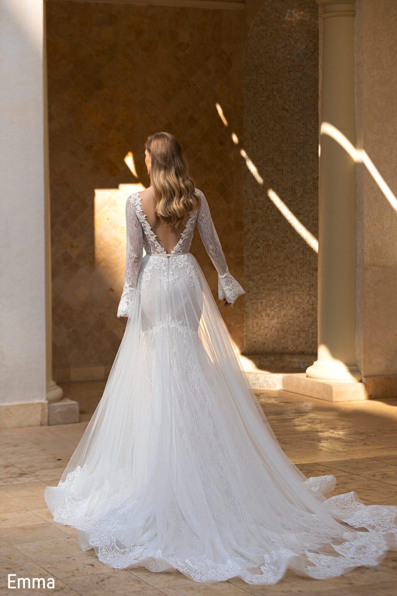 Hochzeitskleid Meerjungfrau mit separatem Rock